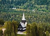 Holmenkollen Chapel in Oslo, Norway