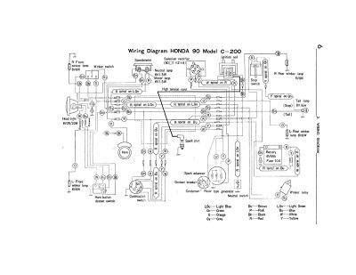 Wiring Schematic For Honda