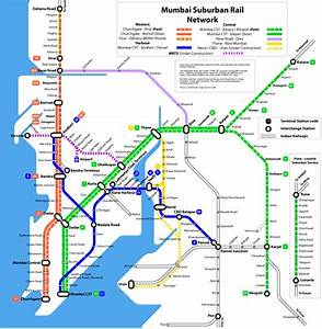 Thane Vashi Panvel Line Railway Map