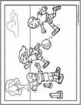 Coloring Sports Pages Playing Printable Sheets Print Drawing Pdf Boys Colouring Adults Kindergarten Getcolorings Activities Winter Ball Athletics Dynamite Sprinter sketch template