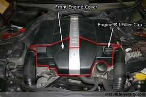 Remove Engine Cover Mercedes C240
