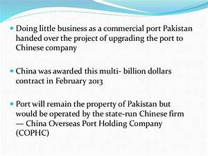 Our extensive research on the subject of Pak China ...
