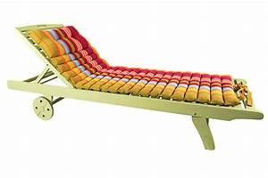 Matelas De Transat : matelas pour bain de soleil transat oreiller int gr 100 coton ventura multicolore piscine t ~ Teatrodelosmanantiales.com Idées de Décoration