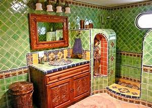 50 best images about mexican bathroom remodel on pinterest With best brand of paint for kitchen cabinets with mexican ceramic wall art