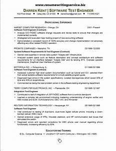 Computer Engineer Resume Objective Software Tester Resume Sample