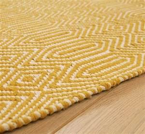 jaune moutarde comment l39integrer dans sa deco et avec With tapis jaune moutarde