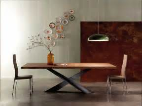 tischbeine design moderne holz esstisch rechteckig form mit formschön schwarz tischbeine design