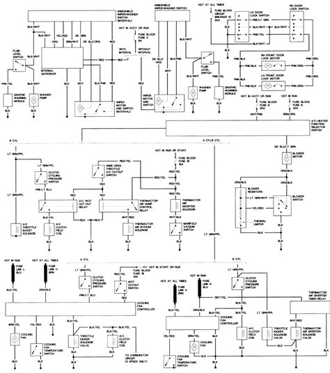 1996 Ford Mustang Starter Wiring Diagram by Repair Guides Wiring Diagrams Wiring Diagrams
