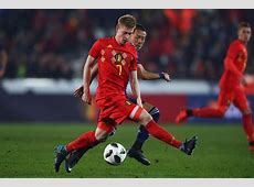 Kevin De Bruyne Manchester City and Belgium World Soccer