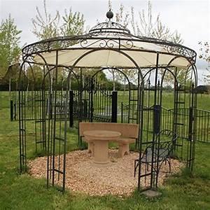 Gartenpavillon Metall Mit Festem Dach : gartenpavillons aus eisen mein gartenpavillon ~ Bigdaddyawards.com Haus und Dekorationen