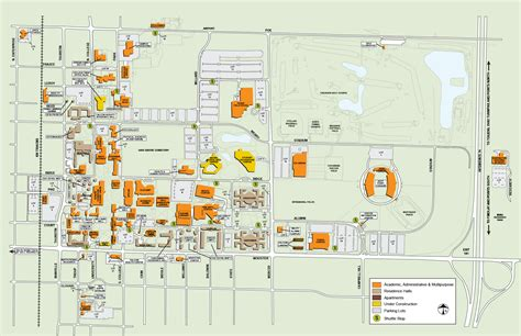 College Wooster Campus Map