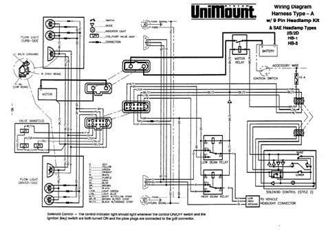 Western Joystick Controller Wiring Diagram by Western Snow Plow Wiring Schematic Auto Electrical