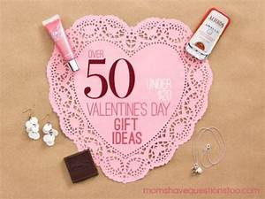 Inexpensive Valentine Gift Ideas All under $20 Moms