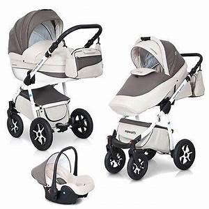 Kinderwagen Komplett Set : kombi kinderwagen 3in1 komplett set mondo ecco babywanne buggy schale alu leder ~ A.2002-acura-tl-radio.info Haus und Dekorationen