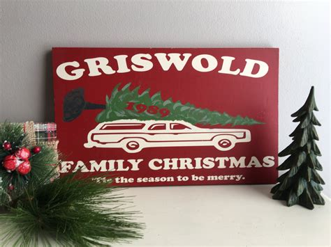 griswold christmas decorations signs vacation griswold