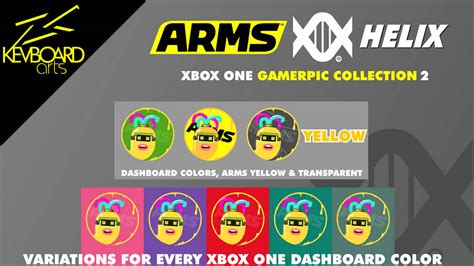 Xbox Gamerpic Arms Helix Yellow By Kevboard On Deviantart