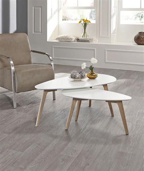 Table D Appoint Scandinave Table D Appoint Moderne Gris Et Blanc Style Scandinave