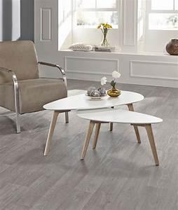 Table D Appoint Salon : table d 39 appoint moderne gris et blanc style scandinave ~ Melissatoandfro.com Idées de Décoration