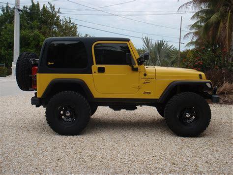 jeep yellow yellow 2001 jeep tj siiick my future life pinterest
