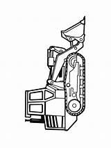 Bulldozer Dibujos Coloring Colorear Imprimir Gratis sketch template