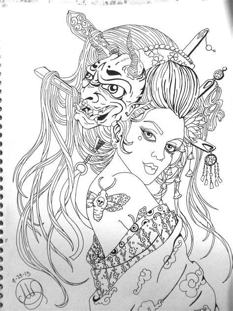 Geisha by Pin-updoll.deviantart.com on @DeviantArt