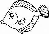 Fish Coloring Pages Preschool Crafts Colouring Animal Kindergarten Child Template Worksheets Read Lot sketch template