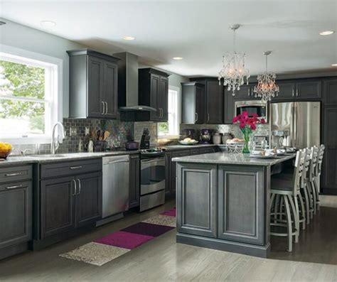 designs ideas gray kitchen cabinets amazing reverb