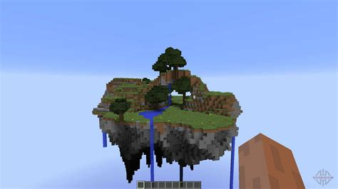 floating island  minecraft