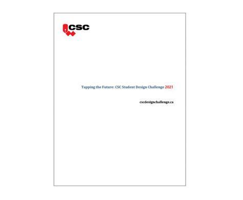 csc student design challenge iguide