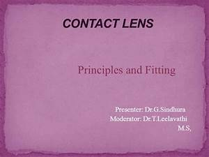 Contact Lenses Ppt