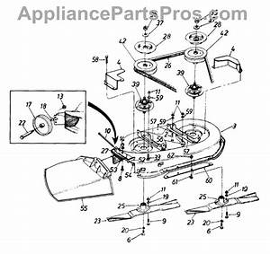 Parts For White Outdoor 136l691f190    1996  Deck  U0026 Chute