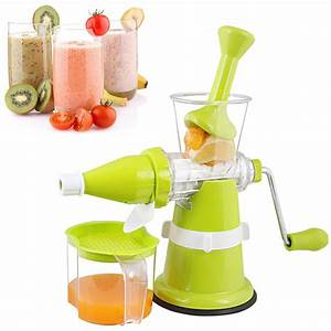 Kuber Industries U2122 Juicer  Fruit  U0026 Vegetable Juicer  Manual