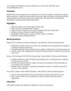 procurement category manager resume purchase manager resume sles category manager resume best resume sle