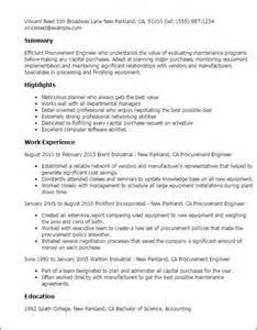 procurement engineer resume sles sales resume indiana sales sales lewesmr