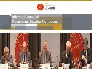 Relaciones España-Marruecos. Presentación del Informe ...