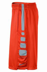Nike Elite Knit Shorts in Orange for Men | Lyst
