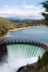 Kerr Dam Polson Montana Flathead Lake