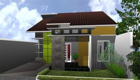desain rumah minimalis sederhana  kamar gambar denah