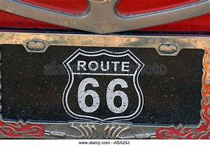Diamond Plate Side Tool Box  Route 66 Plate