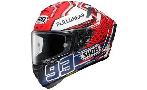 shoei introduces   fourteen marc marquez replica helmet