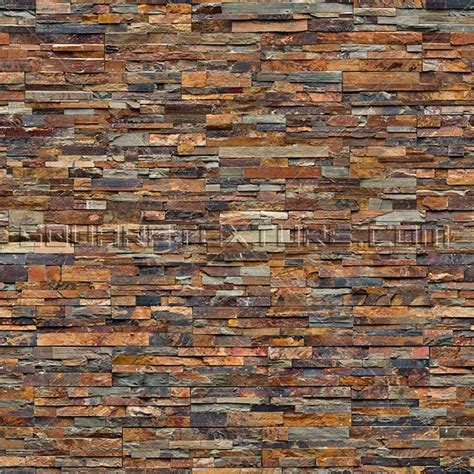 slate stacked tile stone texture 039 stacked slate wall cladding square texture