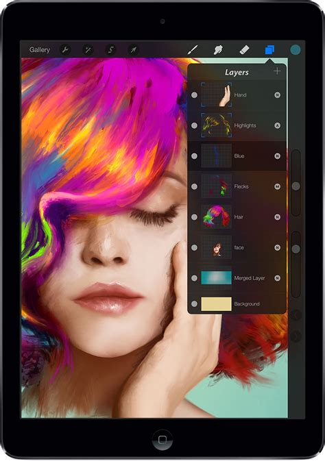 Procreate 2 Brings Gpu Accelerated Filters, 4k Canvases & 64bit To Ipad App  Digital Arts