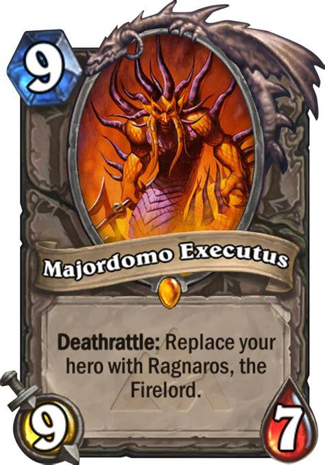 hearthstone best ragnaros deck majordomo executus hearthstone card
