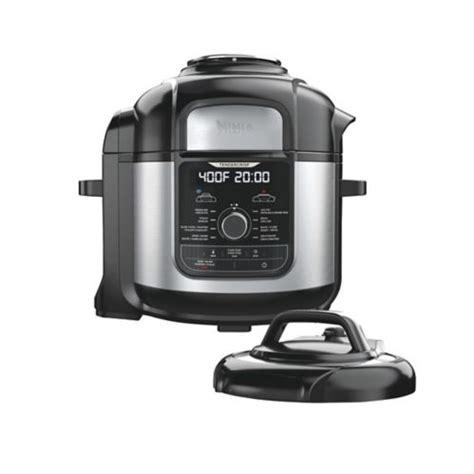 fryer air ninja qt xl foodi tire canadian cooker deluxe pressure stainless steel