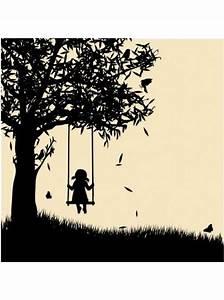girl on swing silhouette | Art Inspiration | Pinterest ...