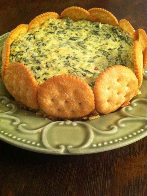 This goat cheese potato gratin recipe is a variation of my husband's. Spinach Parmesan Torte - the perfect appetizer!.....Ritz crackers,,,are the BEST!! EASY but ...