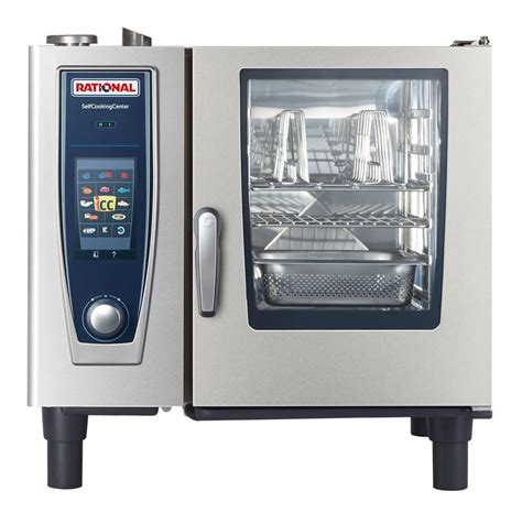 rational cuisine rational b618206 27e 33 quot selfcooking center countertop