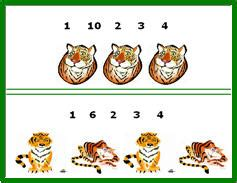 counting jungle animals worksheets counting