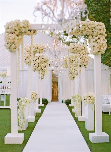 Reception Décor Photos Tent Wedding Entrance Inside