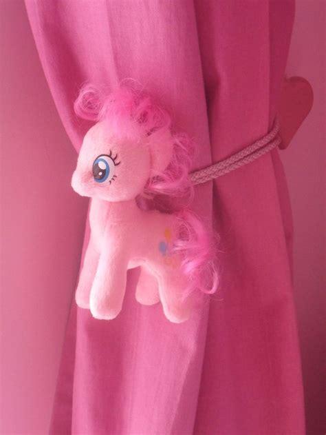 my pony pinkie pie childrens bedroom curtain tie